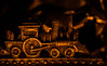 all aboard (auntneecey) Tags: train candlelight allaboard macromonday monday metal 365the2017edition 3652017 day352365 18dec17