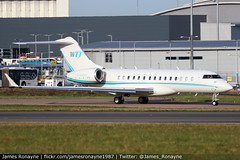 B-96999 | Bombardier BD700 Global 6000 | Fubon Group (james.ronayne) Tags: b96999 bombardier bd700 global 6000 fubon group aeroplane airplane plane aircraft aviation bizav business corporate vip executive execjet corpjet luton ltn eggw canon 80d 100400mm raw
