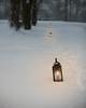 Silent Night (Chancy Rendezvous) Tags: night nightfall silent silentnight massachusetts snow snowfall path light candles footsteps footprints flame glow dusk oldsturbridge sturbridge village christmas holiday