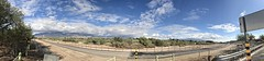 Panoramic View of Clouds On The Catalina Mountains This Morning (Chic Bee) Tags: panorama sky wintermonsoon monsoon clouds mountains catalinamountains tucson arizona southwesternusa americansouthwest