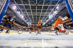 """Kansas City Mavericks vs. Colorado Eagles, December 16, 2017, Silverstein Eye Centers Arena, Independence, Missouri.  Photo: © John Howe / Howe Creative Photography, all rights reserved 2017. • <a style=""""font-size:0.8em;"""" href=""""http://www.flickr.com/photos/134016632@N02/39138139031/"""" target=""""_blank"""">View on Flickr</a>"""