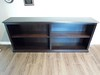 Office Bookcase (Brian's Furniture) Tags: office bookcase long low 72long30high 12d sides adjustable shelves open flat base ground dark stain brown maple onyx american made furniture brians westlake ohio 44145 carlyle shape top beveled edge po1071710128 co147