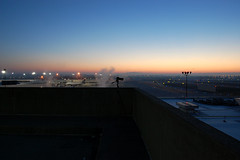 Winter Morning at KCMH (Lunken Spotter) Tags: columbus ohio oh centralohio franklincounty airport airports airplane airplanes plane planes morning mornings sunrise sunrises cold frosty freezing frost frozen transportation airfield airline airliners portcolumbus portcolumbusinternationalairport cmh kcmh