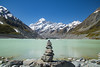 Hooker Lake and Mt Cook (gsreejith) Tags: newzealand nz mtcook mountcook mountain glacier lake nature naturephotography