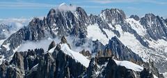 Challenge (tucker.ralph) Tags: aiguille du midi mountaineers snow mountains alps sky