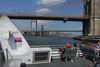 Commuter Boat, East River (Blinking Charlie) Tags: nycferry eastriver passengers brooklynbridge manhattanbridge newyorkcity newyork usa 2017 sonydscrx100m3 blinkingcharlie