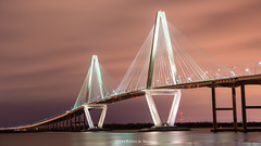 Arthur Ravenel Jr. Bridge (AppStateJay) Tags: charleston arthur ravenel jr bridge sc southcarolina nikon d7100 sigma 1750mm f28 ex dc os hsm mount pleasant travels 2017