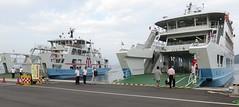 Miyajima Ferry (Hatsukaichi, Japan) (courthouselover) Tags: japan 日本 stateofjapan 日本国 chugokuregion chūgokuregion 中国地方 hiroshimaprefecture 広島県 hatsukaichi 廿日市市 asia