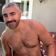 IMG_7666 (danimaniacs) Tags: man guy hot sexy shirtless beard scruff mansolo hairy body hair