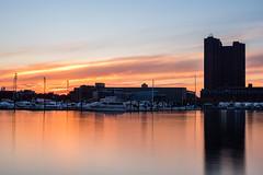 Inner Harbor Sunset