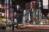 Tokyo nights (Abhi_arch2001) Tags: tokyo night traffic road skyline signs neon dark after streaks car nikon japan japanese