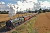 Scarborough Spa Express 2009 (paul_braybrook) Tags: 70013 olivercromwell brstandard pacific steamlocomotive poppleton rhic 70013poppletonssee flickr york northyorkshire scarboroughspaexpress railway railtour trains