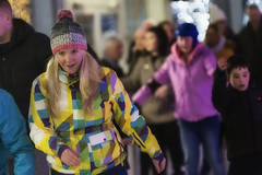 The Ice Skater (Frank Fullard) Tags: frankfullard fullard candid street portrait christmas ice frost skate iceskater colour color lady glamerous girl beauty cap knitwear snow smile icerink rink castlebar mayo irish ireland