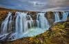 Kolufoss (Daniel.Peter) Tags: iceland island kolufoss kolufossar kolugljufur wasserfall dpe3x waterfall