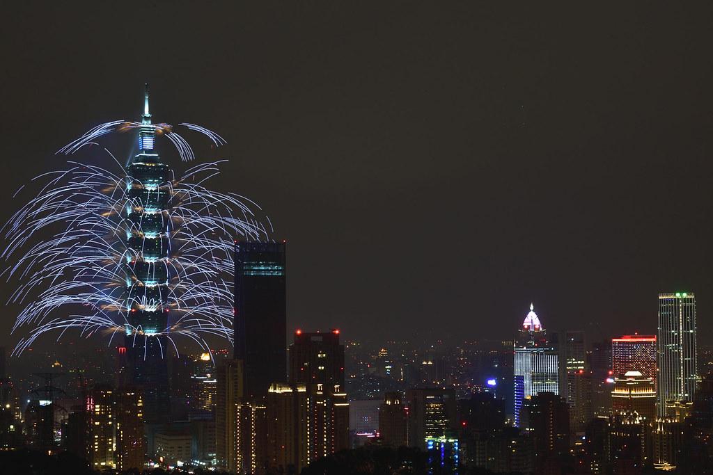 2018 台北 101 跨年煙火