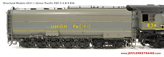 Overland Models 4521.1 Union Pacific FEF-3 836 (Twin Ports Rail History) Tags: usa jeff lemke trains inc brass model train service pro professional custom painting repairs weathering railway railroad paint ho scale omi overland models union steam locomotive factory painted pacific up