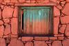 Window... (Atacama) (Zé Eduardo...) Tags: window machuca pueblo village wall stone blue red atacama architecture southamerica chile