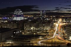 Anochece en las tablas (Luis R.C.) Tags: madrid nocturnas paisajes urbanas nikon d610