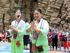 Folk Performance (oxfordblues84) Tags: goddessstream oat overseasadventuretravel peoplesrepublicofchina china touristattraction threerivergorge yangtzerivercruise yangtzeriver victoriacruises victoriajenna victoriajennacruise riverboatcruise rivercruise chinese chinesewoman singer performer folkperformance