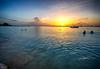 Sunset in Barbados (` Toshio ') Tags: toshio barbados bridgetown caribbean ocean sea water sunset swimming clouds sun atlantic boat boating people wave nature fujixt2 xt2 sailboat