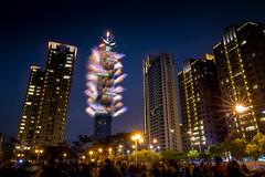 2018台北101煙火 - 2018 Taipei 101 fireworks (basaza) Tags: taipei101 101 canon 760d 1635 煙火