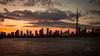 Warm August Evenings (_Matt_T_) Tags: toronto smcpfa35mmf20al sunset cntower dusk ontario canada ca