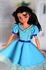Isabel (5) (Lindi Dragon) Tags: doll disney disneyprincess disneystore elena avalor isabel blue dress handmade