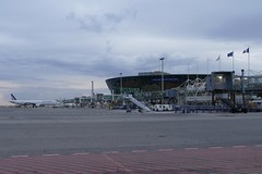 Aeroport Nice NCE Airport Terminal 2 France (roli_b) Tags: nce nice nizza airport aeroport aeropuerto flughafen flugplatz flugzeug flieger jet gate plane aircraft december 2017 morning france frankreich terminal 2 terminal2 a321