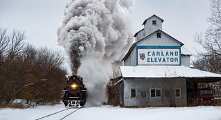 The Polar Express Rolls Through Carland