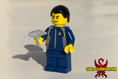 Discovery (Saber-Scorpion) Tags: lego minifigures minifig startrek startrekdiscovery phaser brickforge