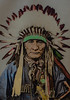 Native American chief (1920s) (frankmh) Tags: nativeamerican americanindian chief 1920 portrait us