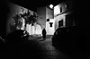 the remains of the night (gguillaumee) Tags: film analog grain blackandwhite leica leicam7 summicron50mm dark darknight night casablanca medina loney shadows morocco mood atmosphere