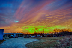 Daybreak on the Winter Solstice (kendoman26) Tags: hdr nikhdrefexpro2 sunrise sky morrisillinois nikon niksoftware nikond7100 tokinaatx1228prodx tokina tokina1228