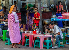 Buddhist nun begs for alms at a streetside restaurant - Yangon, Myanmar (Phil Marion) Tags: myanmar burmese buddhist philmarion candid woman girl boy teen 裸 schlampe 나체상 벌거 desnudo chubby nackt nu ヌード nudo khỏa 性感的 malibog セクシー 婚禮 hijab telanjang nude slim plump tranny sex slut nipples ass boobs tits upskirt naked sexy bondage fuck tattoo fetish asian oriental erotic feet cameltoe cock desi japanese african khoathân latina khỏathân beach public swinger cosplay gay wife dick milf crossdress ladyboy panties babe