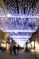Illuminations de Noël (Patatitphoto) Tags: christmas noël nuit night bokeh lumière light illuminations toulouse street photography santaclaus bright