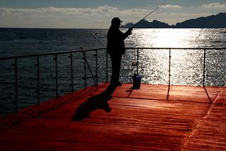 Pesca all'angolo
