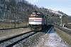 The Eastbound Pennsylvanian (DJ Witty) Tags: amtrak emd f40 dieselelectriclocomotive railroad photography passengertrain pittsburghline johnstown pennsylvania usa