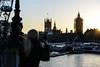 Sunset starburst (PChamaeleoMH) Tags: centrallondon london mobilephones people phones photographers photography southbank
