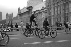 Bike Life (Sean O'Reilly*) Tags: cycle bike bicycle westminster london england uk gb urban boys londres housesofparliament britain street streetphotography bw monochrome