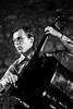 Bill Evans trio (+ Lee Koniz) - Marc Johnson (photograph61) Tags: jazz bill evans ilford 400asa minoltasrt101 rokkor analogicait