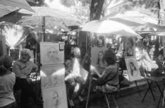 PLACE DU TERTRE PARIS (dominiquedruon) Tags: portraits