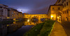 Il Ponte 廊橋 (kaising_fung) Tags: florence firenze italy tuscany lightning thunder night cityscape urban