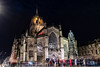 Edinburgh, United Kingdom - 12/04/2017: St. Giles at night with an event on-going (Imaraccoon) Tags: art christian christianity edinburgh event scotland stgilescathedral unitedkingdom winter amazing ancient architectural architecturalphotography arriving attractive beautiful cathedral christening city colorimage culture faith frontview groupofpeople holiday landscape longexposure majestic medieval metropolis night outdoors people religion returning sightseeing spectacular statue structure travel vacation waiting walking