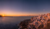 Winter sunset (Vagelis Pikoulas) Tags: sun sunset oia santorini thira 2018 winter january canon 6d tokina 1628mm landscape sea seascape view island magical sky sunburst