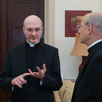 Cardinal Vincent Nichols meets with Monsignor Fernando Ocáriz The  Prelate of  The Opus Dei during his visit in London thumbnail