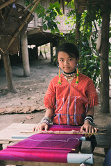 Northern Thai Girl (chrizbrook) Tags: portrait thailand hilltribe easan colour color history imagination tourism