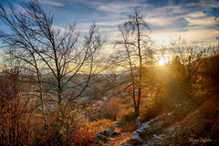 Late autumn sunset (lucazagolin) Tags: autumn colours italy landscape magicmoments mountains paesaggio sunset veneto