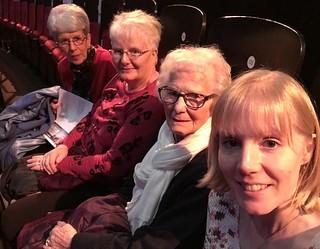 Selfie at the Albert Hall (Christmas carol concert)