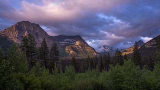 Morning Lighting in Glacier National Park