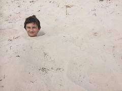 head in the sand (Håkan Jylhä (Thanks for +500000 views)) Tags: håkan jylhä sweden sverige iphone head sand gotland